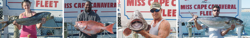 Miss Cape Canaveral Fishing Florida Waters